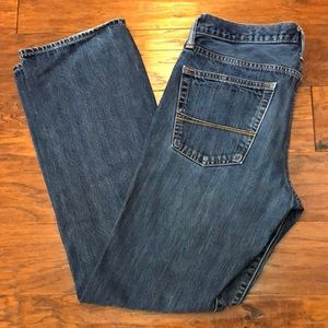 Abercrombie & Fitch men's classic straight jeans